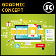 Flat Concept For Web, eCommerce & Social Network - GraphicRiver Item for Sale