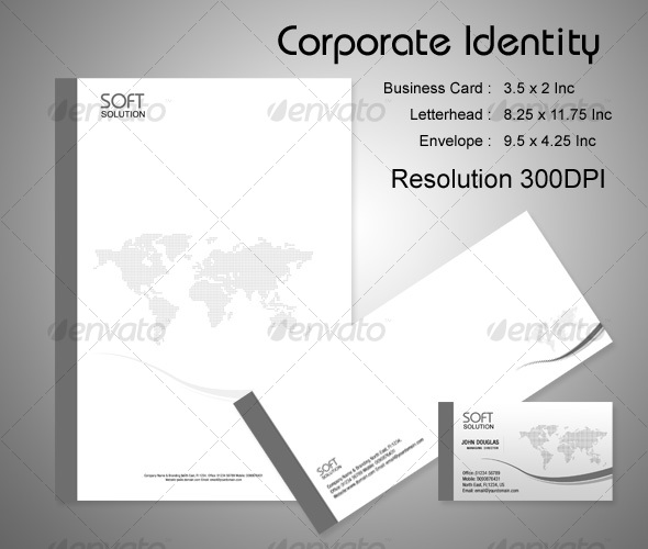 Business Corporate Identity Package - Stationery Print Templates