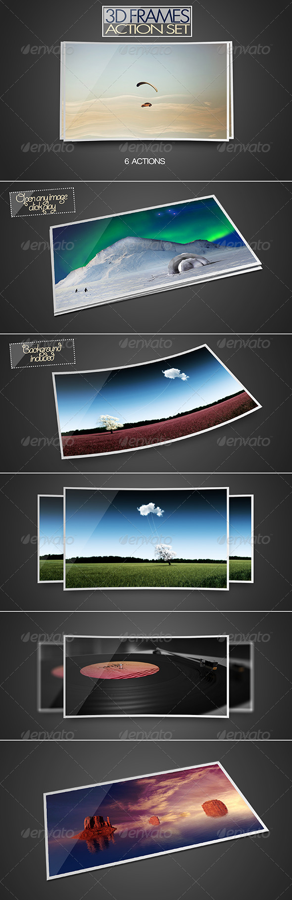 GraphicRiver 3D Frame Action Set 8565393