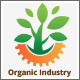 Green Organic Industry Logo - GraphicRiver Item for Sale