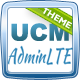 UCM Theme: AdminLTE CRM - ThemeForest Item for Sale