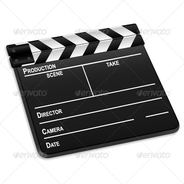 GraphicRiver Clapper Board 8565446