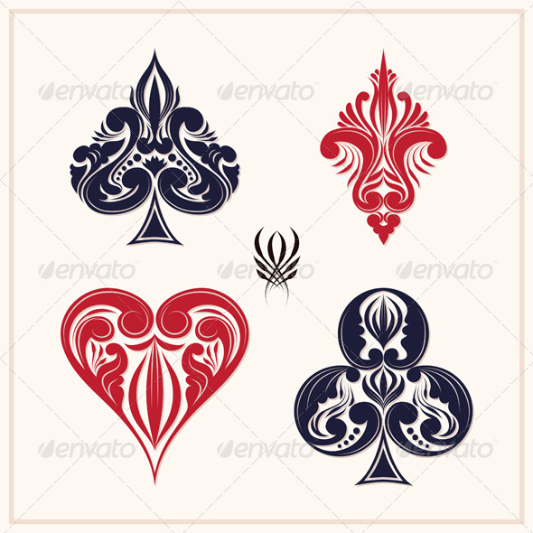 GraphicRiver Ornamental Playing Card 8565465