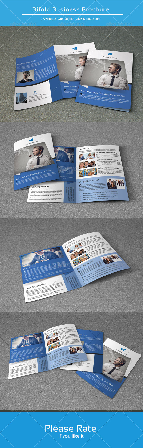 GraphicRiver Bifold Business Brochure-V110 8565486