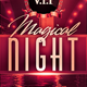 Magical Night Flyer Template - GraphicRiver Item for Sale