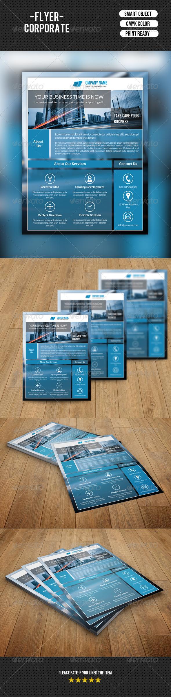 GraphicRiver Business Flyer Template-V109 8560705