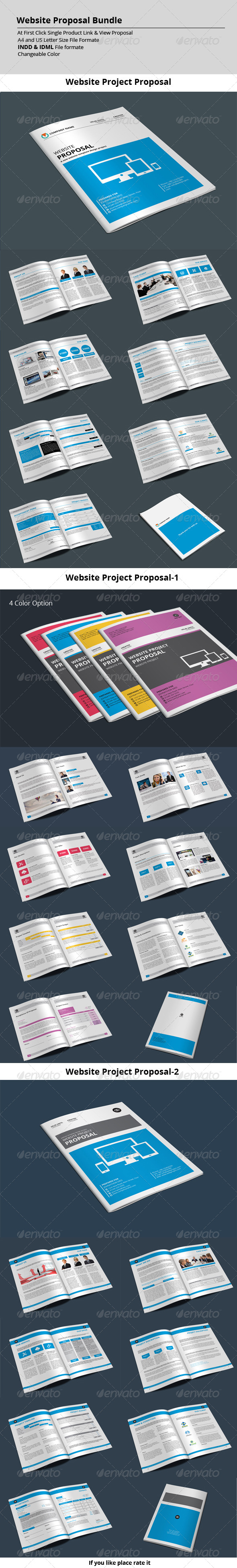 GraphicRiver Website Proposal Bundle 8565535