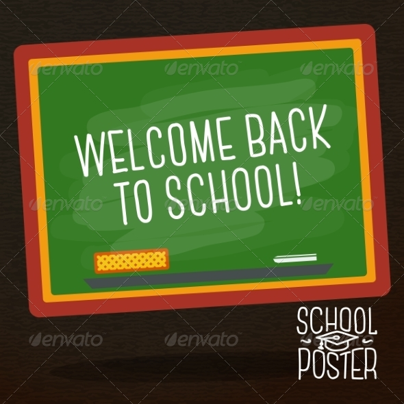 GraphicRiver Welcome Back to School 8565537