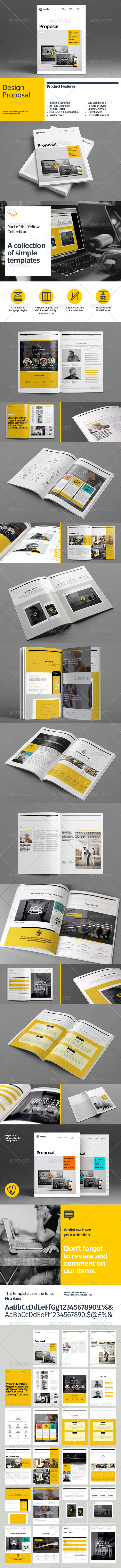 GraphicRiver Proposal Template 8536184