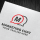 Marketing Chat Logo Template - GraphicRiver Item for Sale