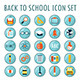 50 School And Education Icons - GraphicRiver Item for Sale
