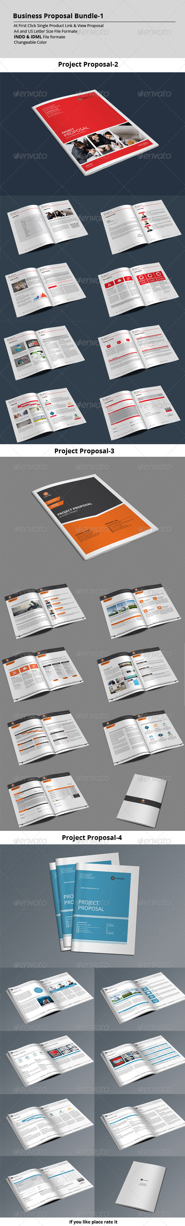 GraphicRiver Business Proposal Bundle-1 8565554