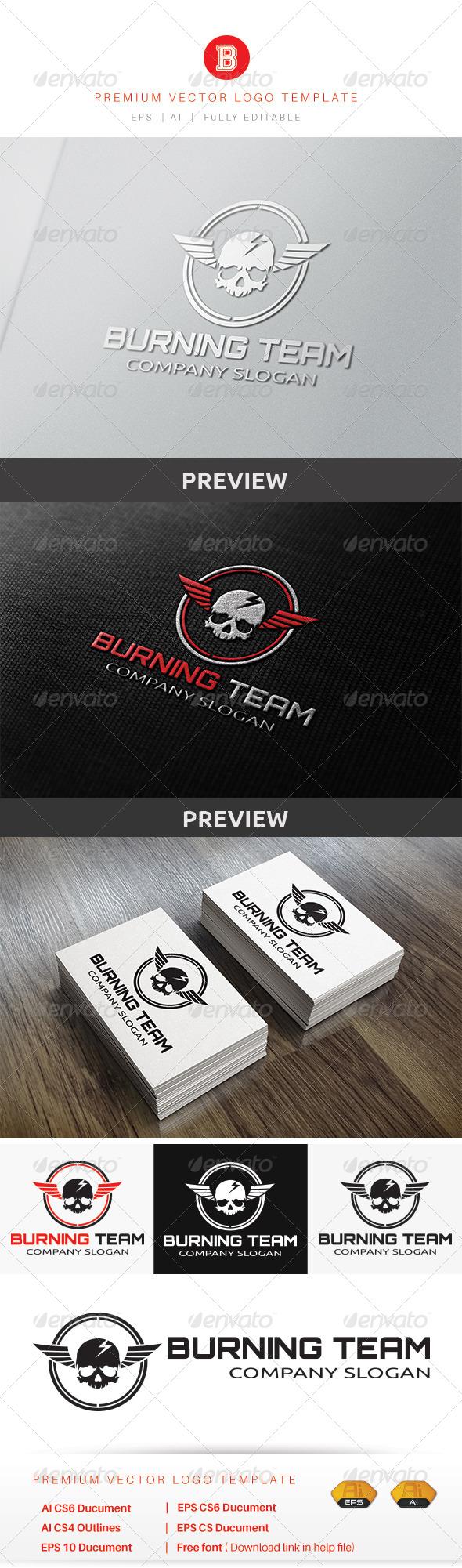 GraphicRiver Burning Team 8565598