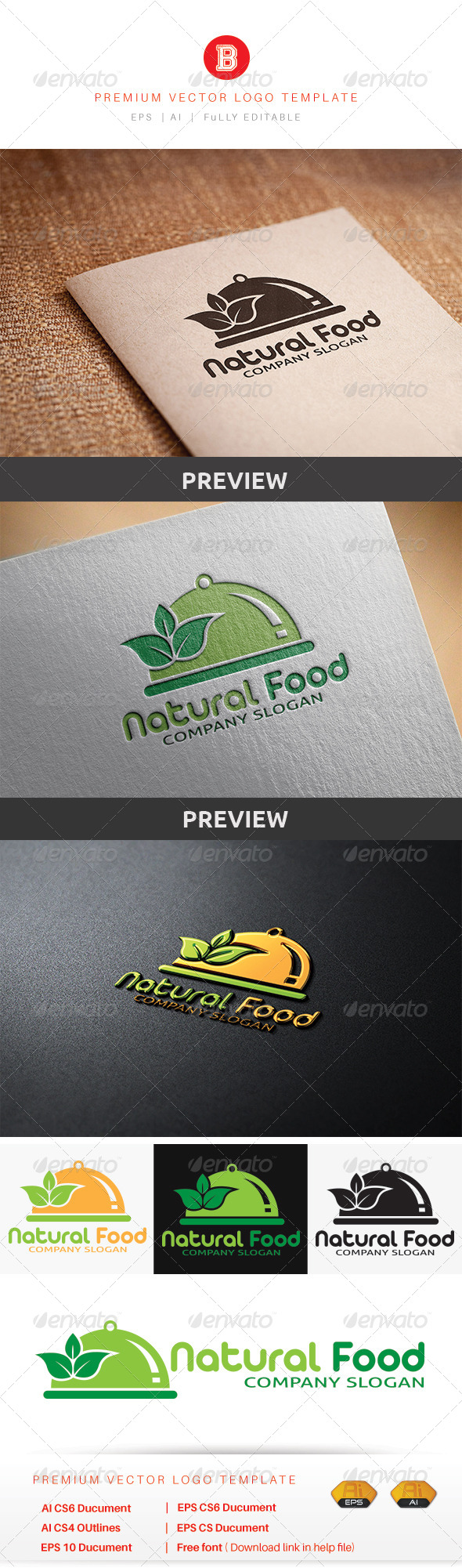 GraphicRiver Natural Food 8565609