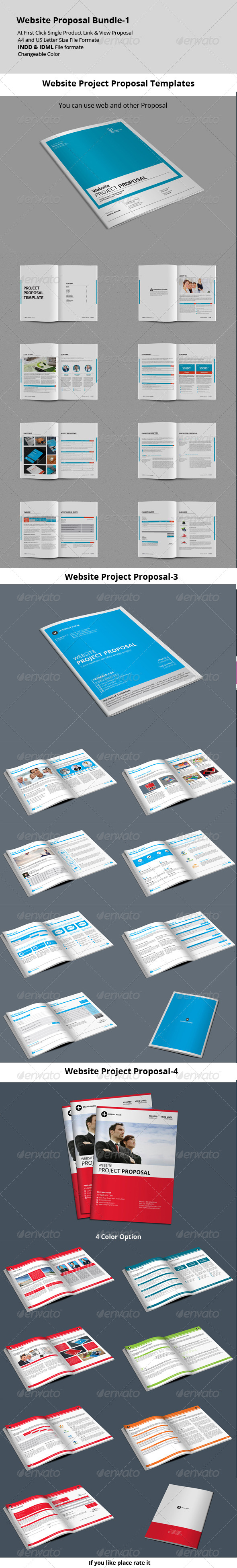 GraphicRiver Website Proposal Bundle-1 8565631