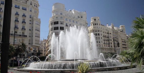 Fountain In The City 2