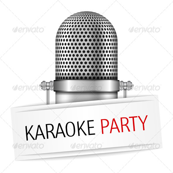 GraphicRiver Karaoke Party Banner 8565767