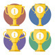 Golden Cups - GraphicRiver Item for Sale