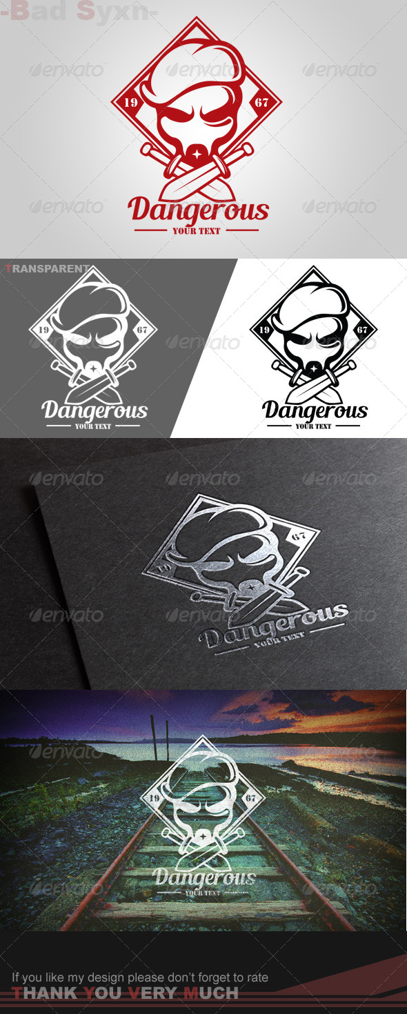 GraphicRiver Dabgerous Logo Template 8565973