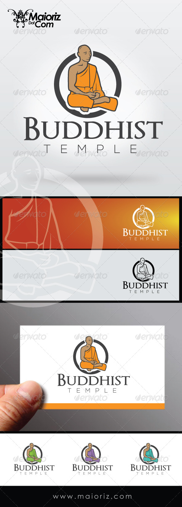 GraphicRiver Buddhist Logo Template 8565977