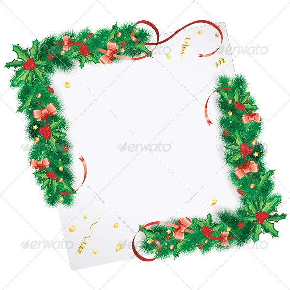 GraphicRiver Christmas Frame 8566075