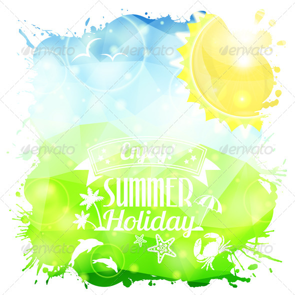 GraphicRiver Summer Poster 8566077
