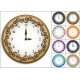 Wall Clock Decorated with Ornate Pattern - GraphicRiver Item for Sale