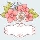Invitation Card with Flowers. - GraphicRiver Item for Sale