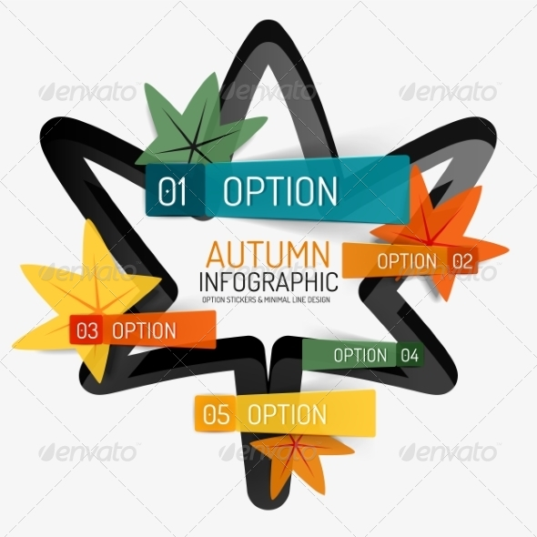 GraphicRiver Autumn Option Infographic Banner 8566261