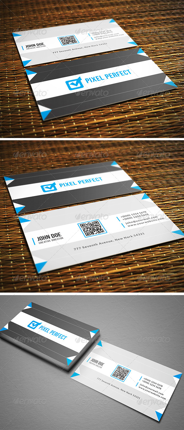 GraphicRiver Clean Creative Business Card 8566311