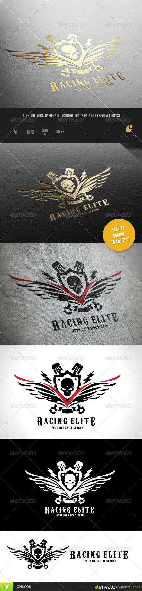 GraphicRiver Racing Elite 8566327