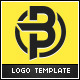 BluePrint - Letter B & P Logo - GraphicRiver Item for Sale