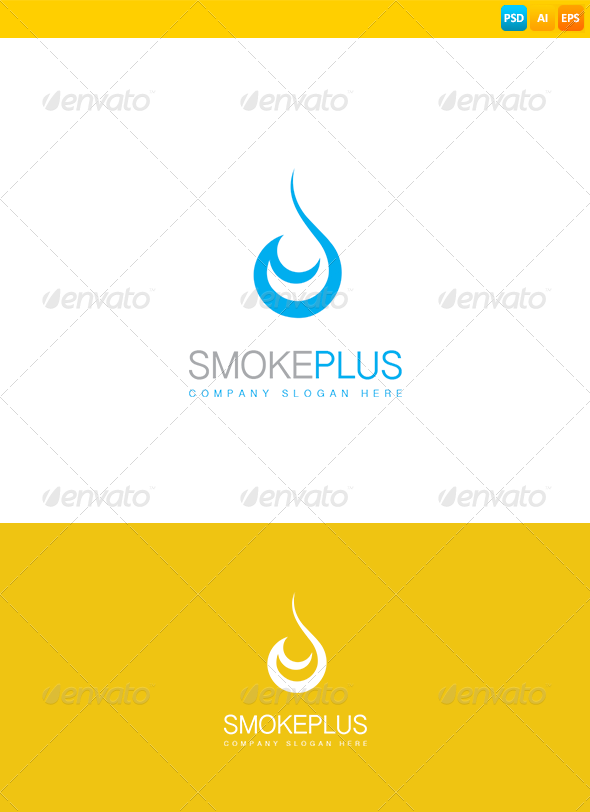 GraphicRiver E Cigarette Logo 8566926