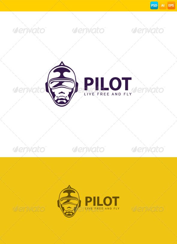 GraphicRiver Pilot Logo 8567170