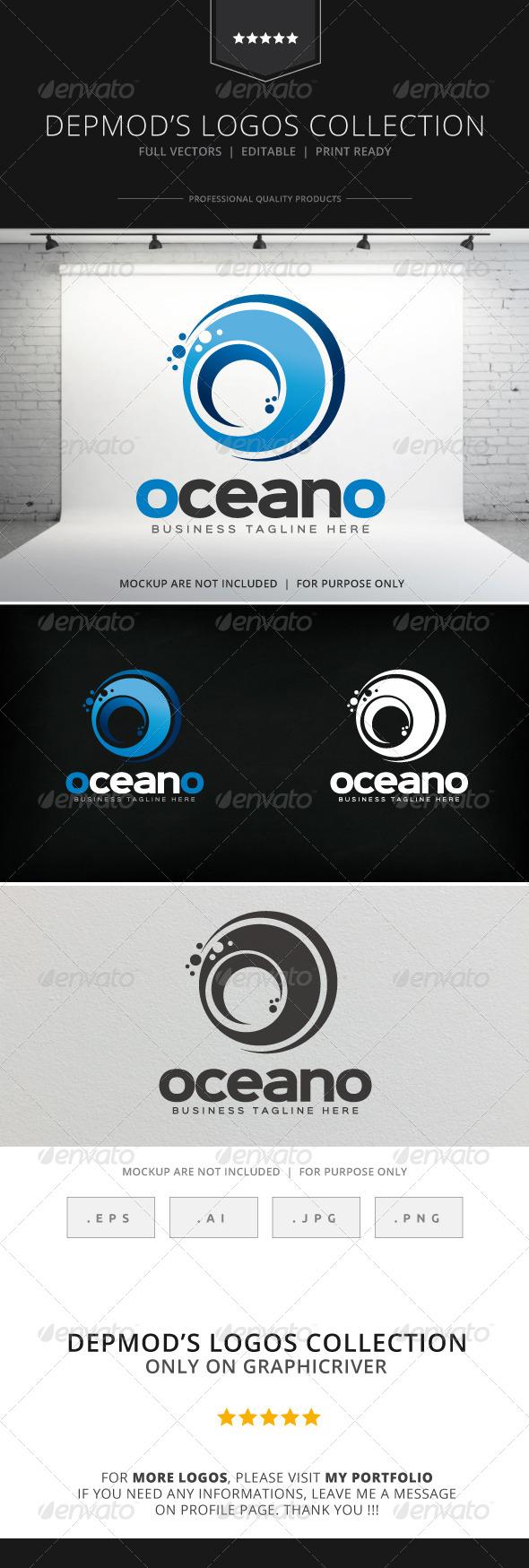 GraphicRiver Oceano Logo 8567200