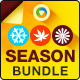 Season Sale Banner Bundle - 3 Sets - GraphicRiver Item for Sale