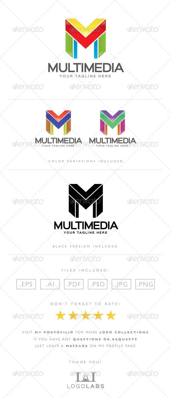 GraphicRiver Letter M Logo 8567336