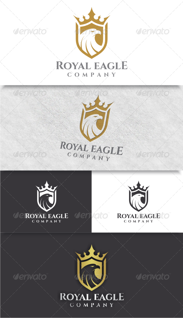 GraphicRiver Royal Eagle Logo 8567477