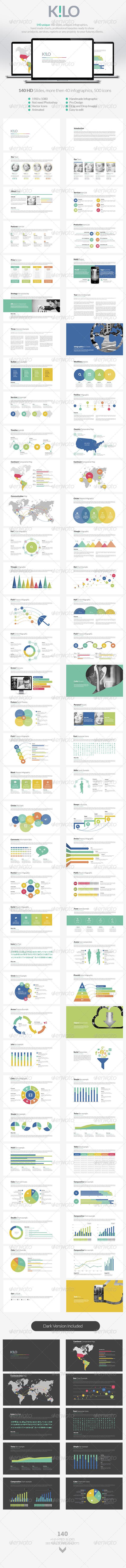 GraphicRiver Kilo Keynote Presentation 8558154