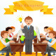 Team Management Illustration - GraphicRiver Item for Sale