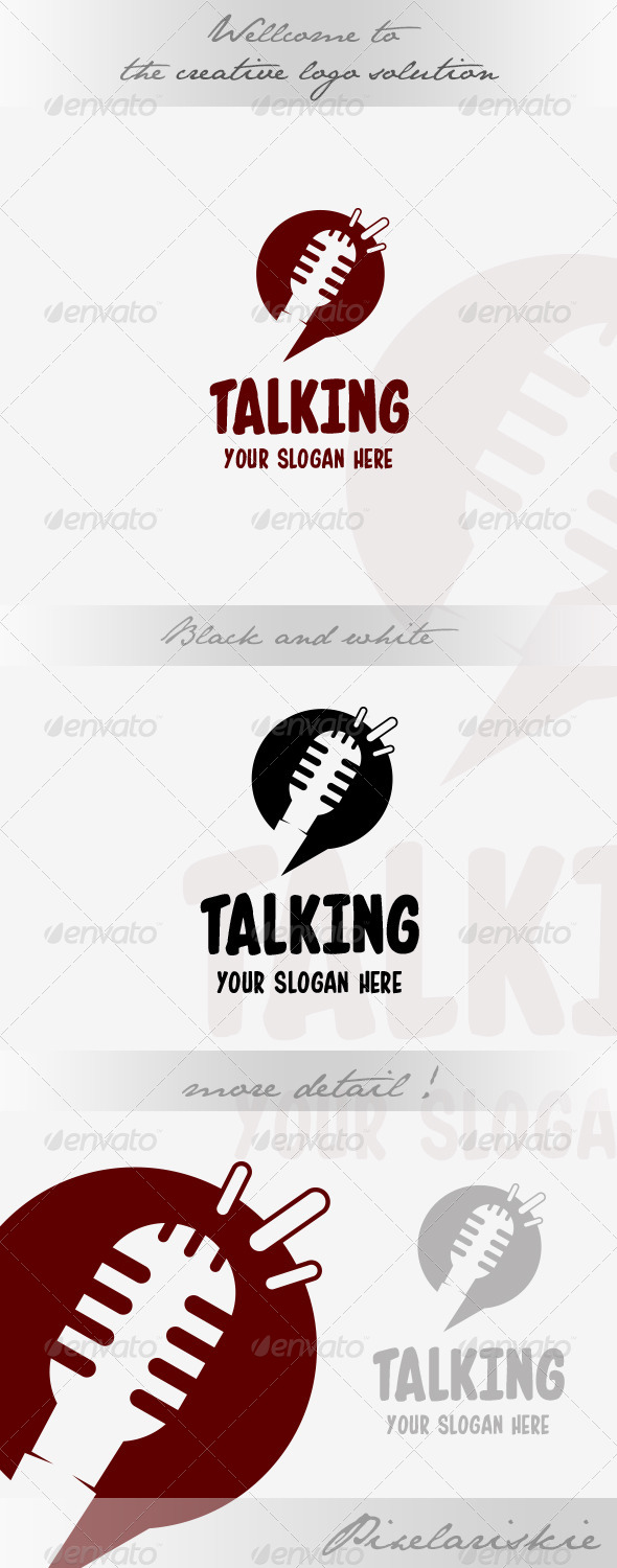 GraphicRiver Talk and Chat Logo 8567930