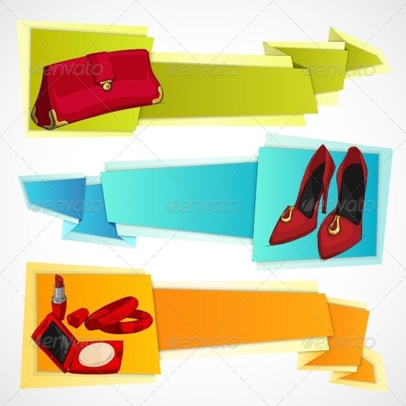 GraphicRiver Fashion Banners Set 8568236