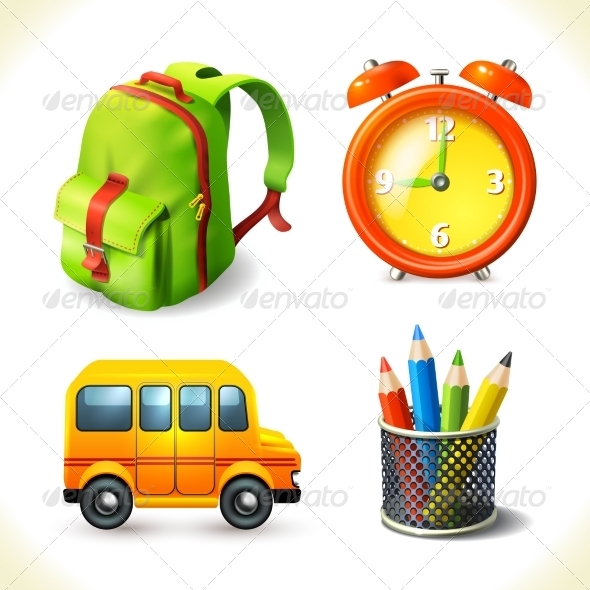 GraphicRiver Education Icons Set 8568297