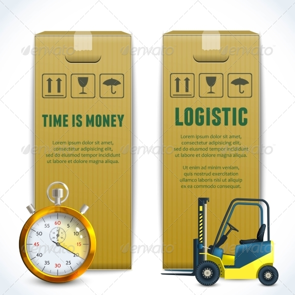 GraphicRiver Logistic Vertical Banners 8568298