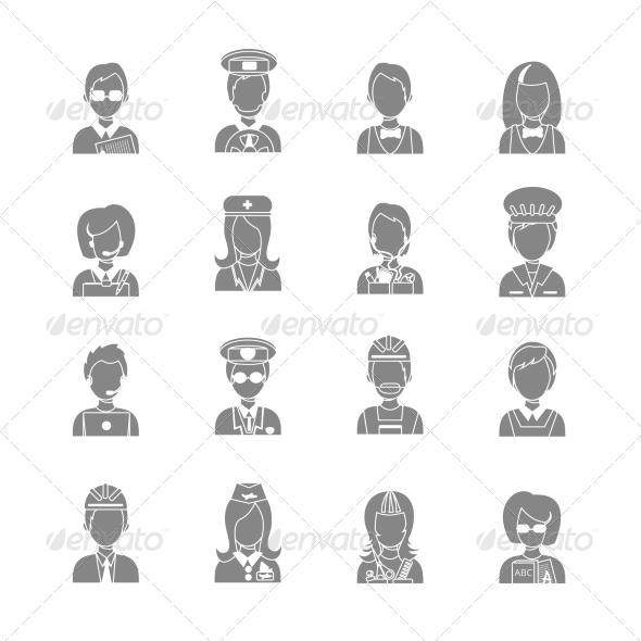 GraphicRiver Profession Avatars 8568317