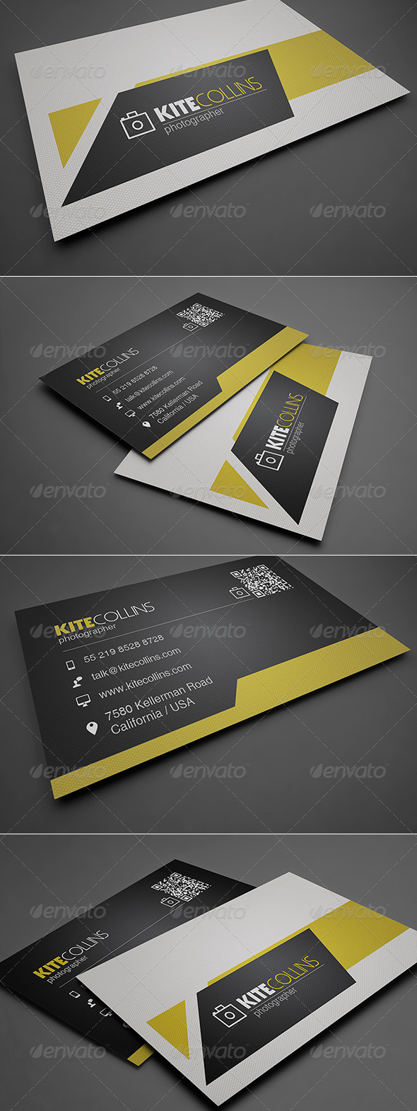 GraphicRiver Simple Business Card 8568359