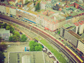Retro look Berlin aerial view - PhotoDune Item for Sale