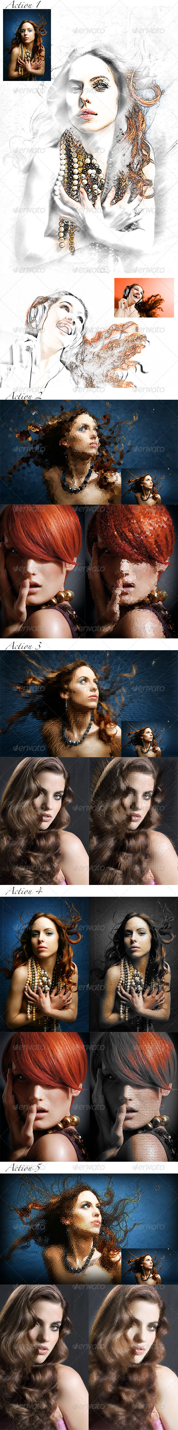 GraphicRiver 5 Abstract Actions 8568487
