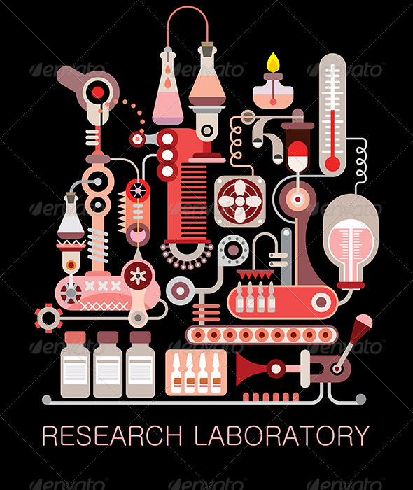 GraphicRiver Research Laboratory 8568547