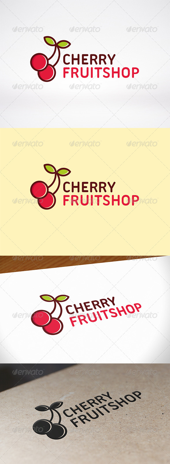GraphicRiver Cherry Logo Template 8568576